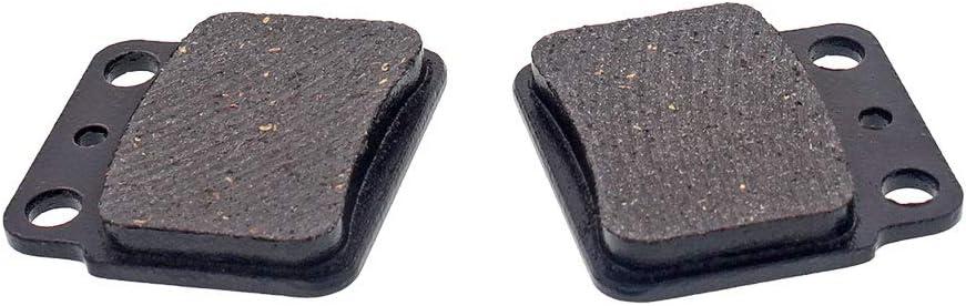 NICHE Brake Pad Kit for Suzuki QuadSport Z400 59300-42860 69100-07810 43082-1205 Complete Semi-Metallic