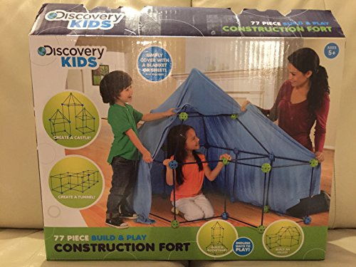 Discovery Kids Construction Fort Build