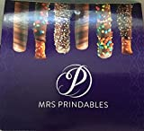Mrs. Prindables 24 Chocolate Dipped Caramel Pretzel Rods 2.11 lbs. (1 box - 2.5 lbs.)