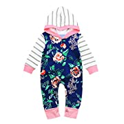 Shop the Look Memela(TM) NEW Fall/Winter Baby Girls Layette Gift Set Rompers Onesie 0-24mos (0-6 mos)