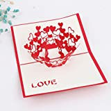 3D pop-up Love Greeting Cards Wedding & Baby Shower Greeting Card (96)