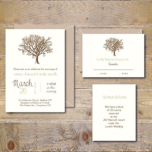Wedding Invitations Invites Rustic Country product image