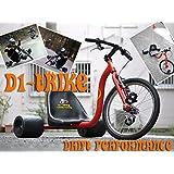 パフォーマンスドリフト三輪車 D1-TRIKE ブラック