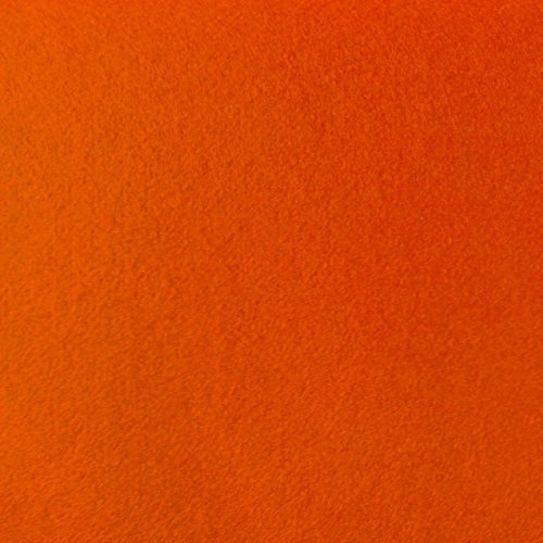 Acrylic Craft Felt 72 Inch Wide (The Fabric Exchange) (2 YARDS, ORANGE)