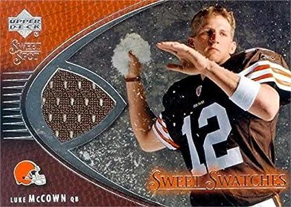 Amazon.com: Autograph Warehouse 344981 Luke McCown Player Worn ...