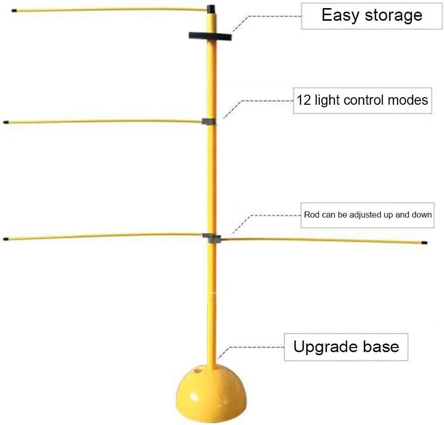 Josietomy attrezzatura per linsegnamento del bastone a farfalla Attrezzatura per lallenamento di pallacanestro agile reazione stick