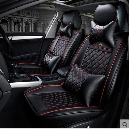 1 conjunto universal Cubierta de asiento de coche para Citroen C-Elysee C-Crosser C3 Picasso C4 Picasso Berlingo cubierta de asiento