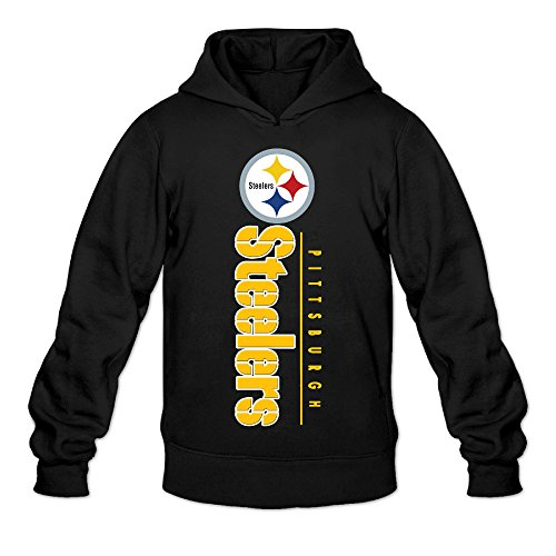 DVPHQ Men's Pittsburgh Logo Steelers Sweater Size XL Black
