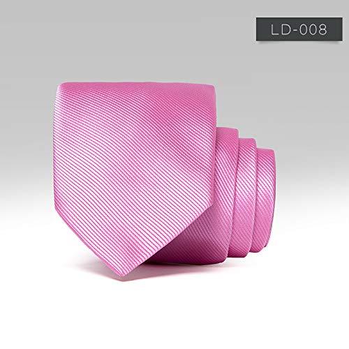 baoyueshangmao Corbatas hombres, corbata roja negra, para ...