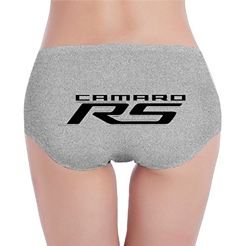 Womens X-Large Camaro Graphic RS Briefs Ash ()