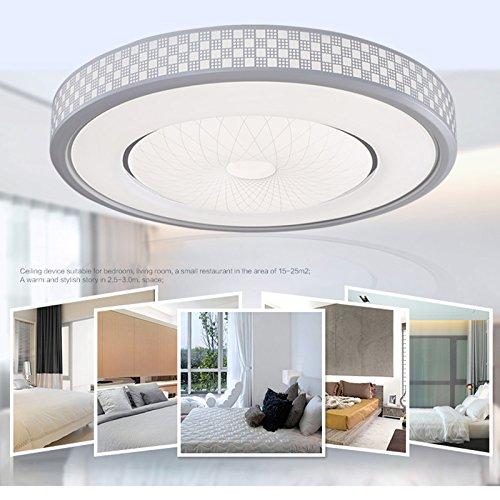20w Led Deckenlampe Deckenleuchten Rund Modern Lampe Wohnzimmer