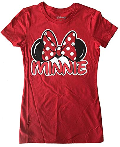 Disney Minnie Mouse Junior's Family T-Shirt - X-Large