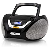 Best Cd Player For Girls - Lauson Boombox with Cd Player Mp3 | Portable Review