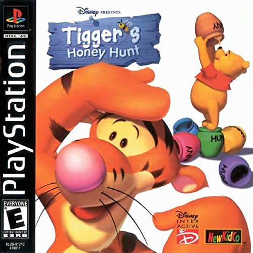 Winnie the Pooh: Tigger's Honey Hunt (Console Honey)