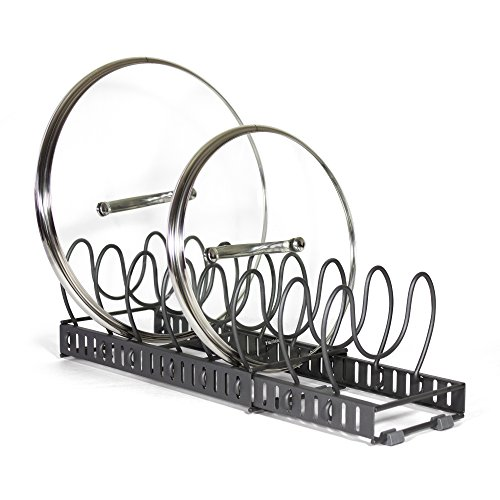Expandable Pot Lid Organizer Rack