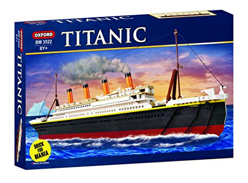 (Oxford Titanic Building Block Kit, Special Edition)