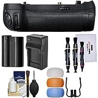 Nikon MB-D18 Grip Multi Power Battery Pack D850 DSLR Camera EN-EL15 Battery & Charger + Flash Diffusers + Kit