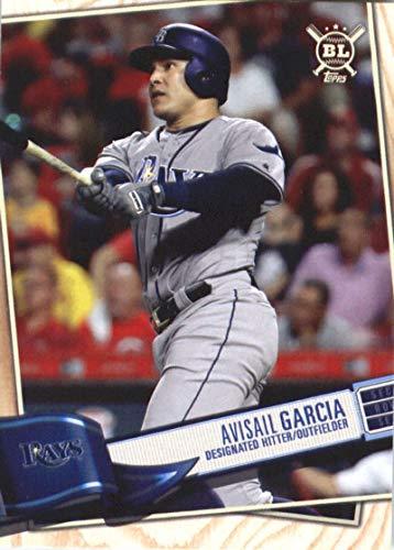Tampa Bay Rays Single - 2019 Topps Big League #221 Avisail Garcia Tampa Bay Rays MLB Baseball Trading Card