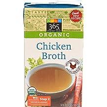 365 Everyday Value, Organic Chicken Broth, 32 oz