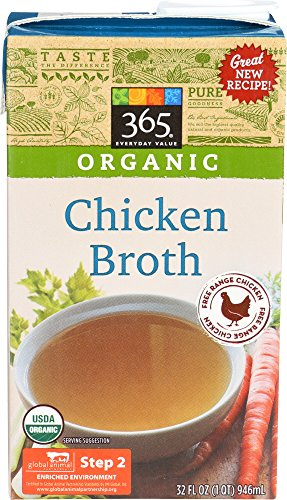 365 Everyday Value, Organic Chicken Broth, 32 oz