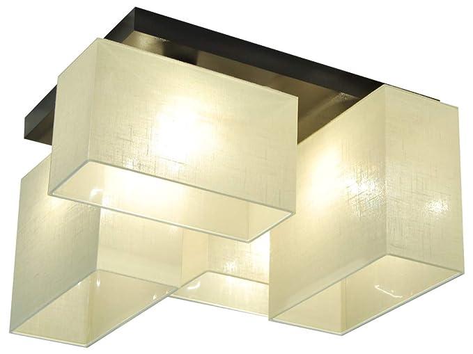Plafoniere Per Tetto In Legno : Plafoniera illuminazione a soffitto jls44ececd in legno massiccio