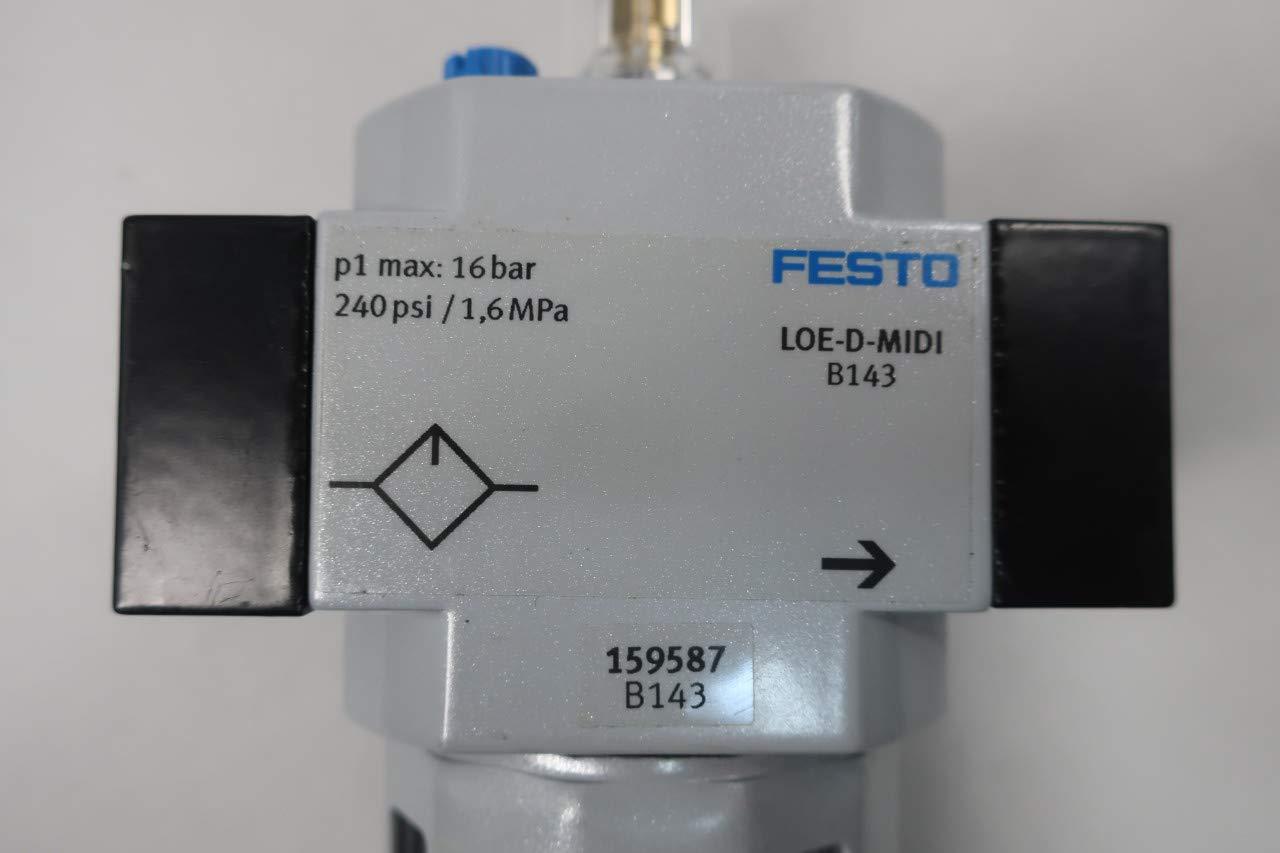 FESTO LOE-D-MIDI Pneumatic Lubricator 240PSI 1//2IN NPT