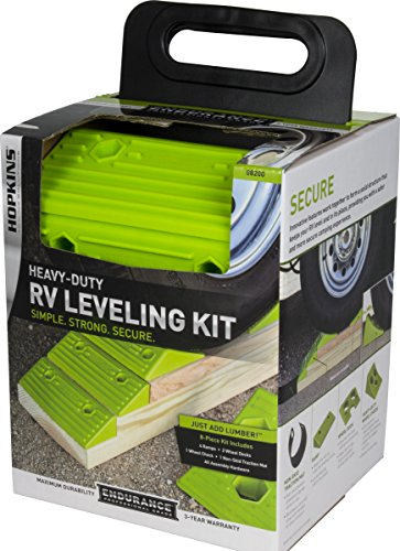 Hopkins 08200 Endurance RV Leveling System with Wheel Chock