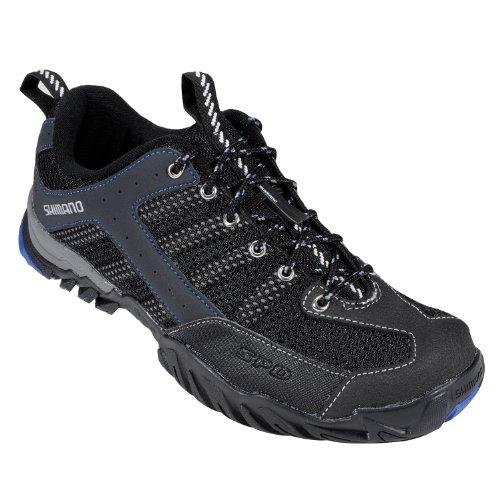 Shimano SH-MT33L Mountain Bike Shoes - Men's, Black/Blue, 42