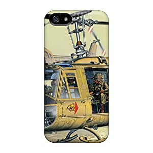 Awesome Wrz27082uhtT DeannaTodd Defender Hard Cases Covers For Iphone 5/5s- Military Helicopters
