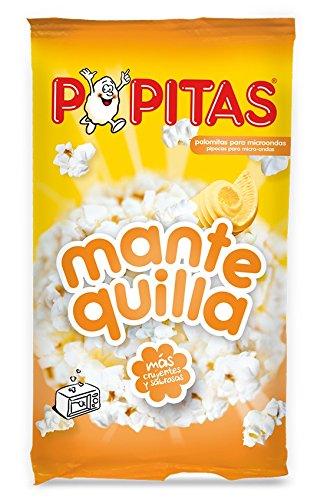 Popitas - Palomitas Sabor Mantequilla Para Microondas, 100 g: Amazon.es: Alimentación y bebidas