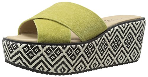 Coconuts by Matisse Women Sailor Wedge Sandal Lime