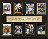 C&I Collectables NCAA Football Tennessee Volunteers All-Time Greats Plaque