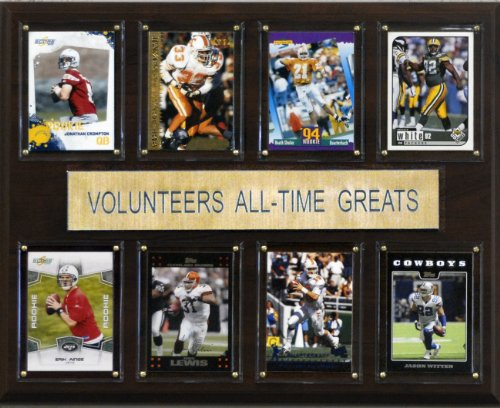 (NCAA Football Tennessee Volunteers All-Time Greats Plaque)