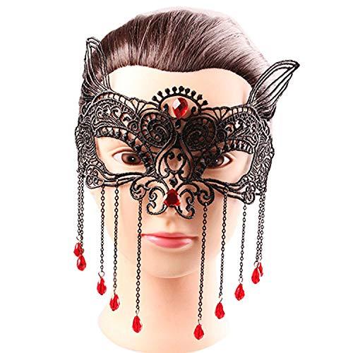 Super Sweet Sexy Elegant Eye Face Mask Masquerade Ball Fancy Party mascaras de Latex realista,United States -