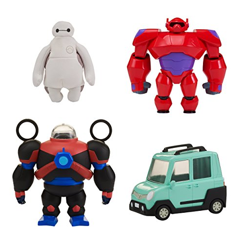Big Hero 6 The Series Squish-to-Fit Baymax with Accessories]()