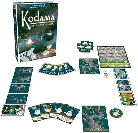 Devir Kodama, Los espíritus del árbol, Juego de Mesa, Miscelanea (BGKODAMA): Amazon.es: Juguetes y juegos