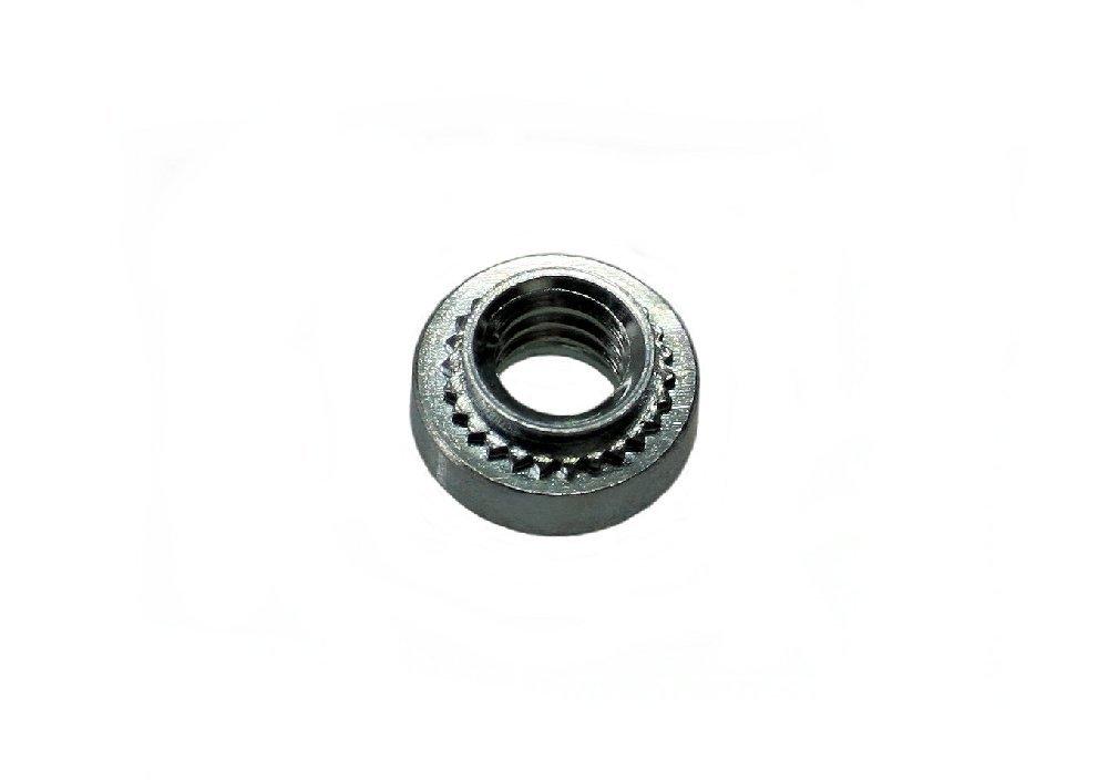 Unicorp ES-0524-2 Round Captive Nut Self-Clinching, 5/16-24 Thread x .091 thk, Steel Zinc QTY-50