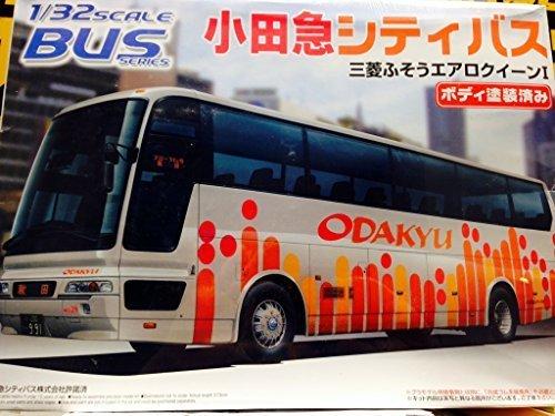 1/32 bus No.11 Odakyu City Bus (Mitsubishi Fuso Aero Queen I) Aoshima Bus
