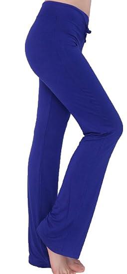 Pantalones Casuales Suaves de la Moda de la Mujer Slim Fit ...