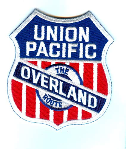 (Railroad 100% Embroidered Patch Collectible - UNION PACIFIC OVERLAND ROUTE)