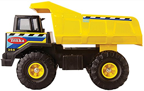 Tonka Retro Classic Steel Mighty Dump Truck (the color of the stickering may vary) (Tonka Toy Dump Truck)