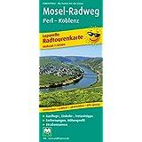 Mosel-Radweg Perl - Koblenz: Leporello Radtourenkarte mit Ausflugszielen, Einkehr- & Freizeittipps, wetterfest, reißfest, abwischbar, GPS-genau. 1:50000 (Leporello Radtourenkarte / LEP-RK)