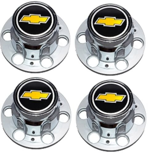 (NEW 6-LUG CHEVY 1500 SILVERADO SUBURBAN BLAZER Wheel Center Cap SET)