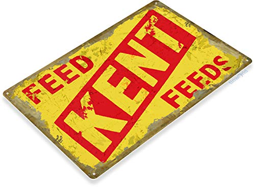 Store Tin Sign Feed (Tinworld TIN Sign C311 Kent Feeds Retro Rustic Feed Seed Store Farm Barn Sign)