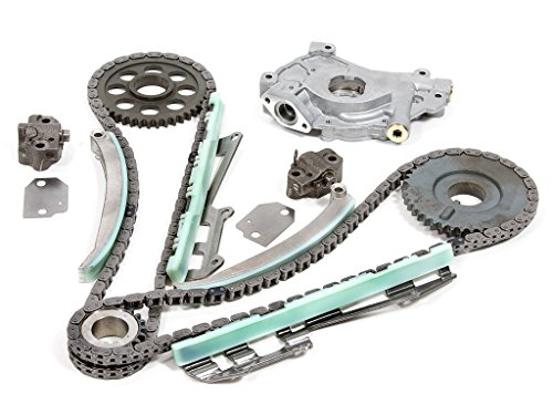 Evergreen TK6046ROP Fits Ford F150 F250 E150 E250 Lincoln Mercury 4.6 SOHC ROMEO Timing Chain Kit Oil Pump