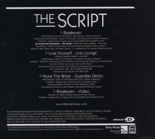 the script breakeven