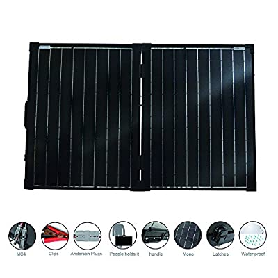 Best Cheap Deal for ACOPOWER 100W Portable Solar Panel Kit, Waterproof 20A Charge Controller for both 12V Battery and Generator by ACOPOWER - Free 2 Day Shipping Available
