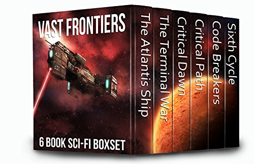 Wow! Six best-selling science fiction novels spanning galactic worlds, alien invasions, and post-apocalyptic landscapes! All for 99 Cents! Grab this Kindle Countdown Deal now! Vast Frontiers: 6 Book Sci-Fi Boxset