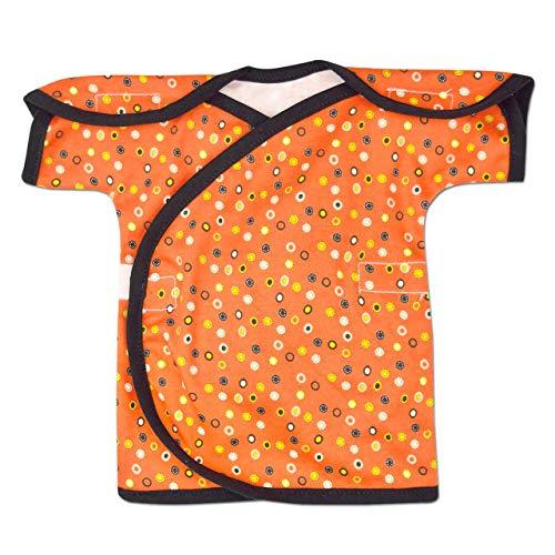 (Perfectly Preemie Short Sleeve NIC-IV Shirt - NICU Friendly (Doodle Dots, Micro))