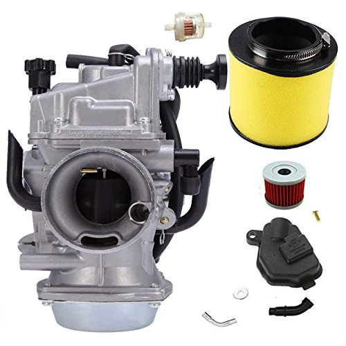 Carburetor TRX300 /w Fiter for Honda Fourtrax TRX300fw TRX350 Rebuild Replacement TRX450fe Rancher 1995-2006 ATV Moto Carb
